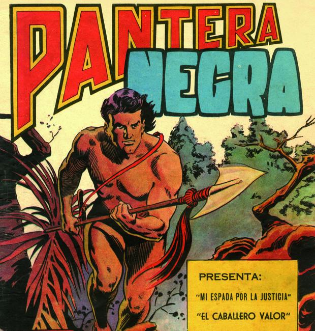 Portada del primer número de «Pantera Negra»