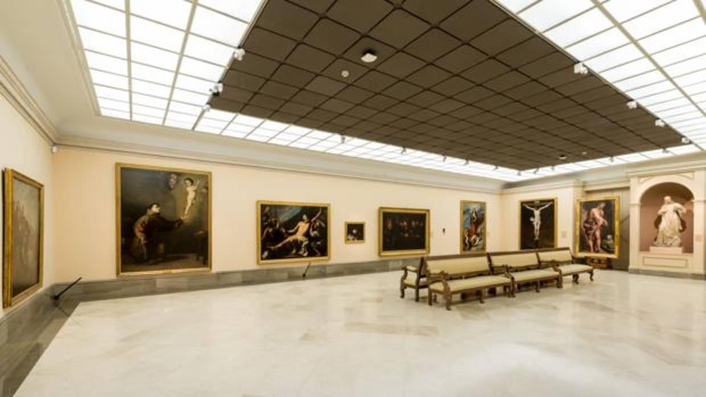 La Real Academia De Bellas Artes De San Fernando Con Una