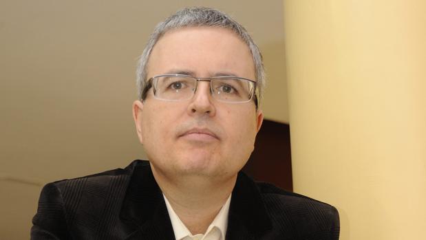 El escritor Antonio Fontana