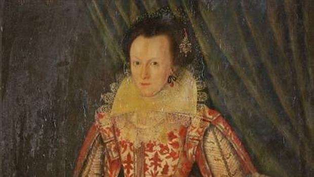 «Woman in red», de 1618