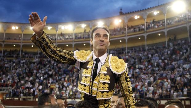 Enrique Ponce, a hombross el pasado San Isidro