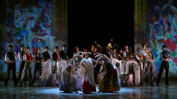 Una espcena del ballet