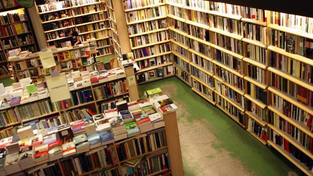 Imagen del interior de la madrileña Librería Antonio Machado