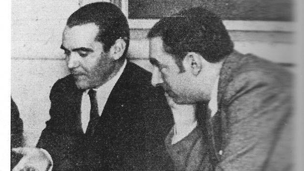 Federico García Lorca y Pablo Neruda