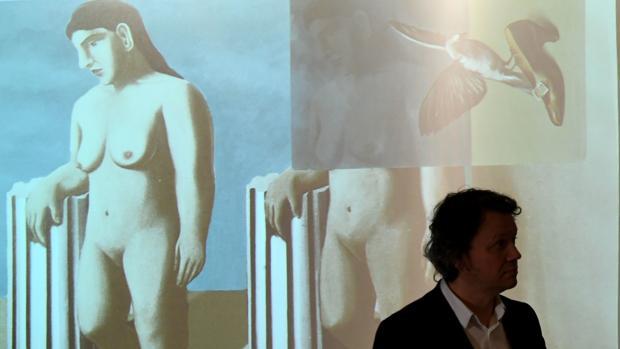 El último cuadrante del puzzle se encontraba oculto bajo un lienzo del Museo de Magritte en Bruselas