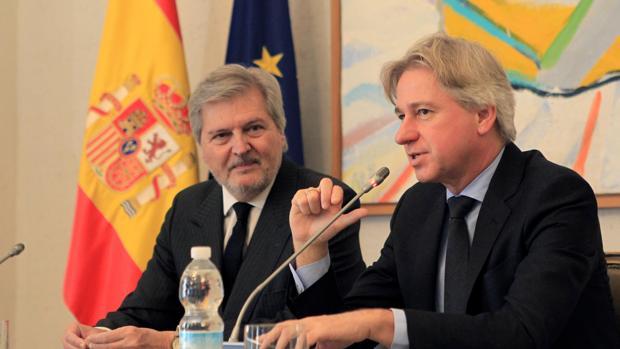 Iñigo Méndez de Vigo y Juergen Boos
