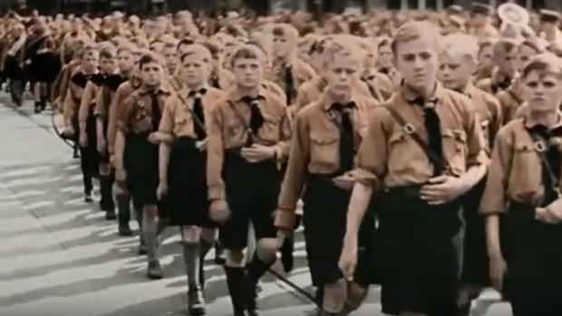 Fotograma del documental sobre las Juventudes Hitlerianas