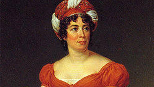Retrato de Madame de Staël