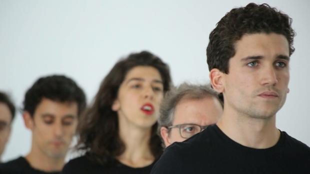 Ensayos de «Esta no es la casa de Bernarda Alba», la obra de Carlota Ferrer que el 14 de diciembre se estrena en los teatros del Canal