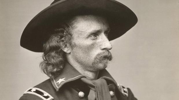 Fotografía del teniente coronel George Armstrong Custer,