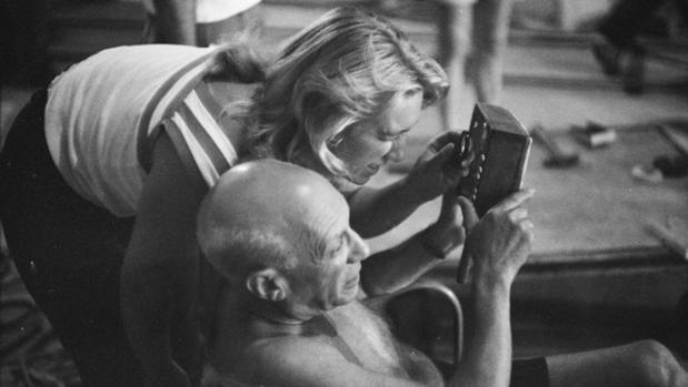 Maya y Picasso. «El misterio Picasso», Niza (Estudios de la Victorine), 1955