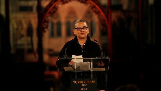Lubaina Himid, tras recibir el galardón