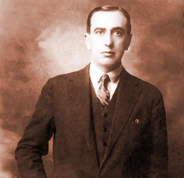 El poeta chileno Vicente Huidobro
