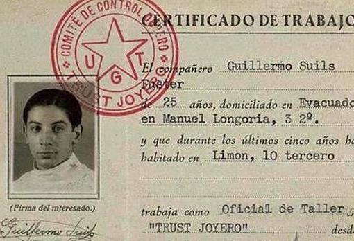 Uno de los documentos indebidamente entregados a la Generalitat