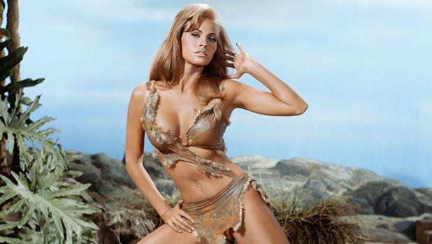 El estilismo prehistórico de Raquel Welch en «Hace un millón de años»