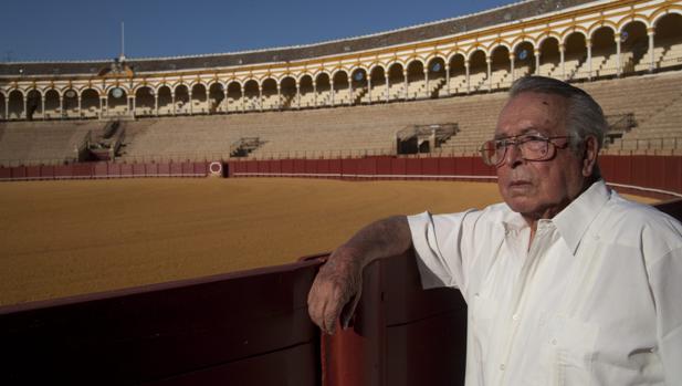 Juan Silveti, en la Maestranza