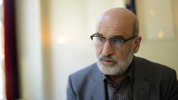 El escritor Fernando Aramburu, autor de «Patria»