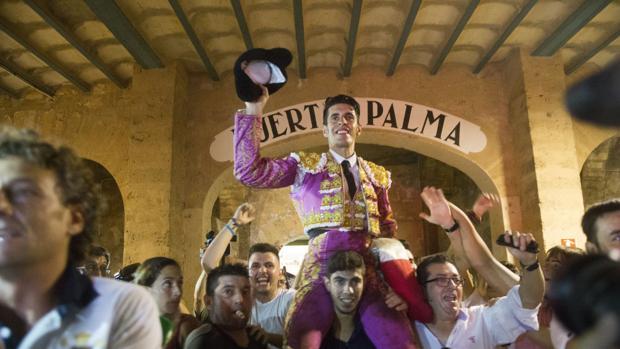 Alejandro Talavante, este verano en Palma de Mallorca