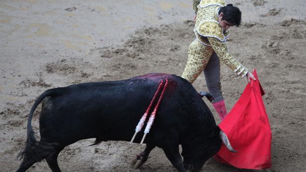Miguel Ángel Perera, en Cañaveralejo