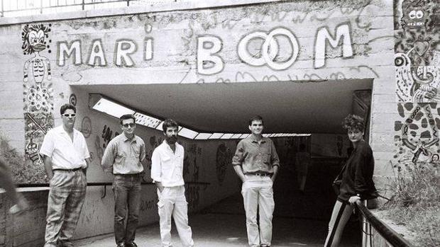 Detalle de Galería Mari Boom en 1985