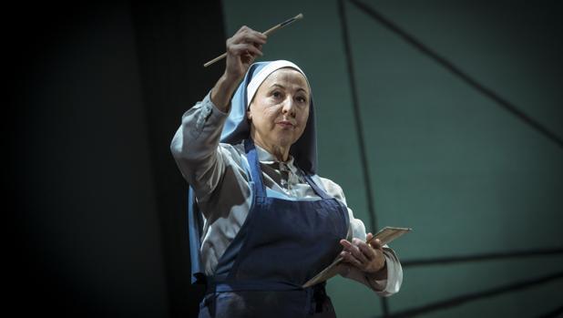 Carmen Machi, en «La autora de Las Meninas»