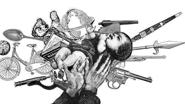 Ilustración de Alejandra Acosta para el «Atlas del bien y del mal»
