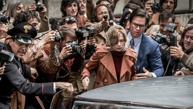 Mark Wahlberg y Michelle Williams tuvieron que volver a Roma a rodar las escenas en que aparecía Spacey