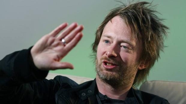 Thom Yorke, cantante de Radiohead