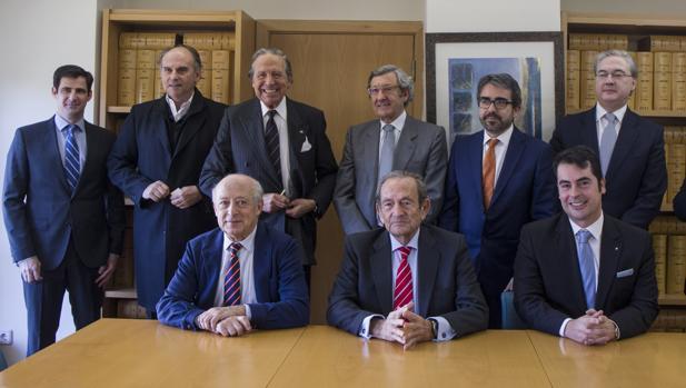 Los miembros fundadores de la Fundación Civilización Hispánica