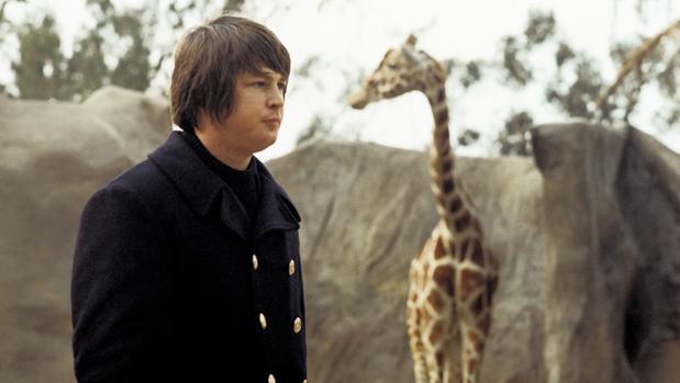 Brian Wilson, fotografiado a mediados de los sesenta