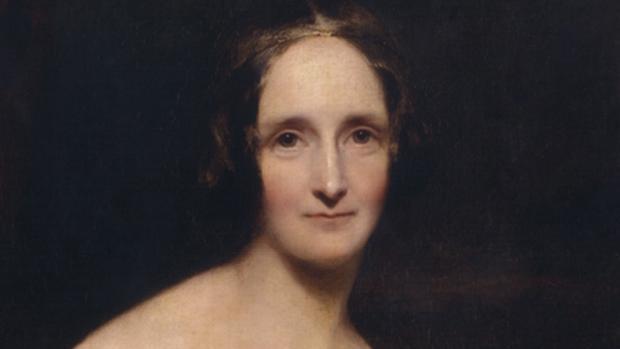 El pintor Richard Rothwell retrató a Mary Shelley en 1840, cuando su obra ya la había hecho célebre