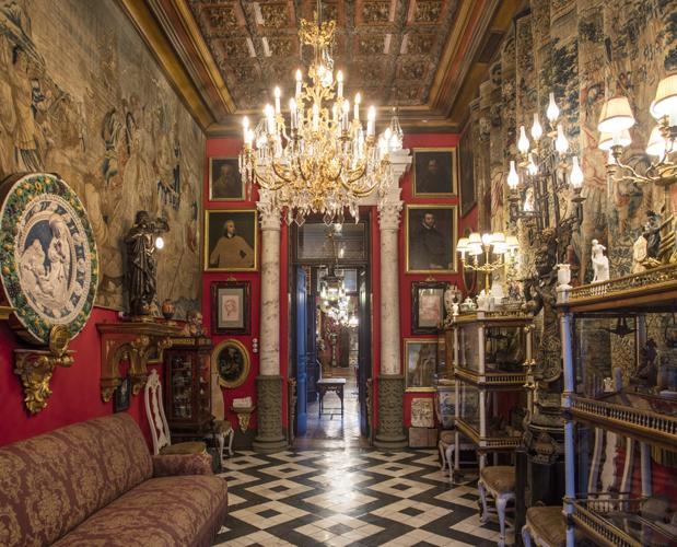 Así luce el renovado Salón Estufa del Museo Cerralbo