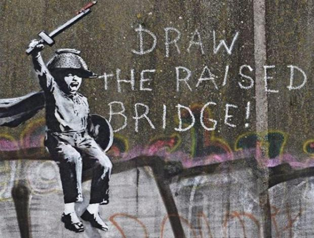 El mural de Banksy en Hull