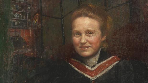 El retrato de Millicent Fawcett obra de Annie Swynnerton