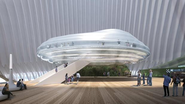 Recreación del CaixaForum Valencia, cuyo proyecto ha sido diseñado por el arquitecto Enric Ruiz-Geli