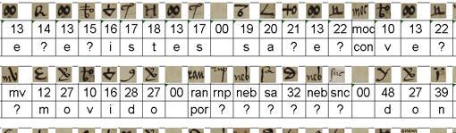 Combinatoria realizada por el CNI sobre las cartas
