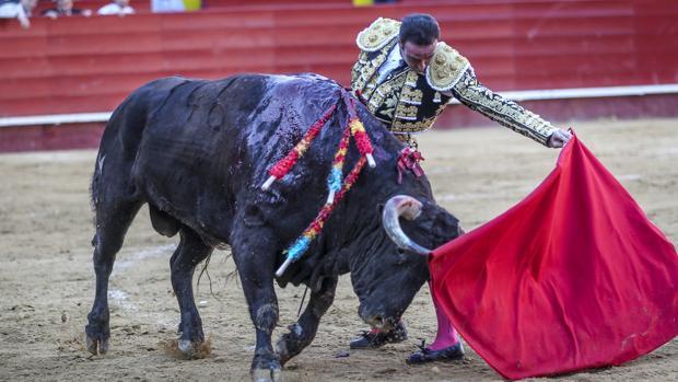 Enrique Ponce, en la pasada Feria de Fallas