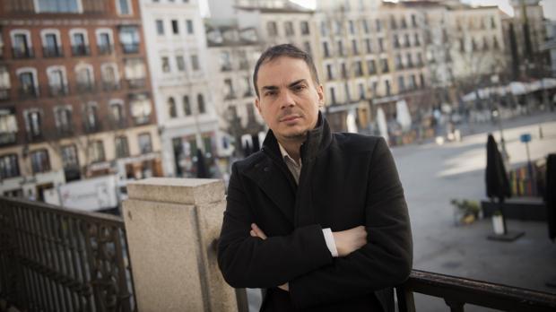 Alberto Conejero, fotografiado en el Teatro Español
