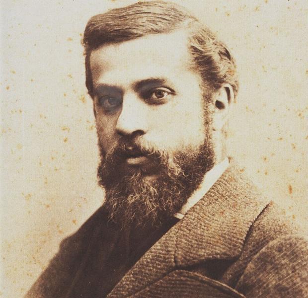 Gaudí fotografiado por Pablo Audouard en 1878