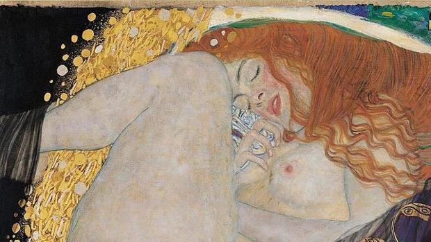 «Dánae», una de las obras más mágicas de Klimt