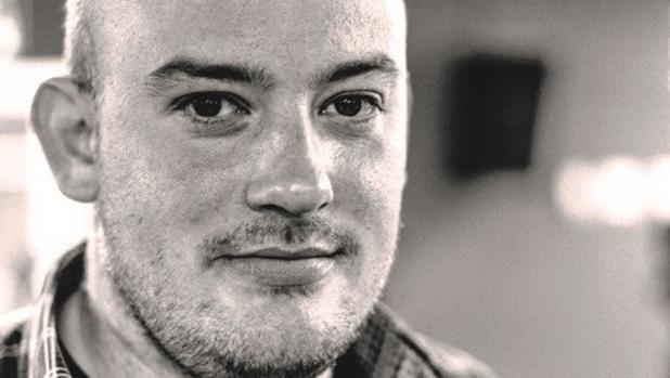 El escritor Miguel Barrero