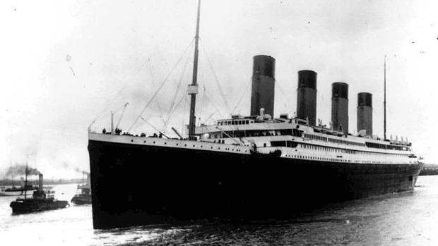 El Titanic, antes de su destino fatal