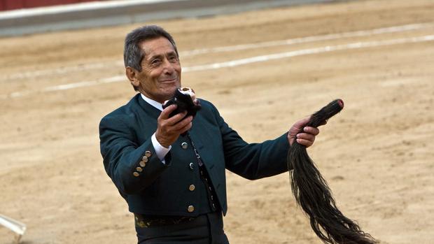 Andrés Vázquez, en el homenaje con motivo de su 50 aniversario de alternativa y su 80 cumpleaños