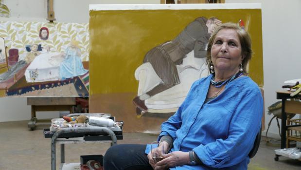 Paula Rego, en su estudio londinense