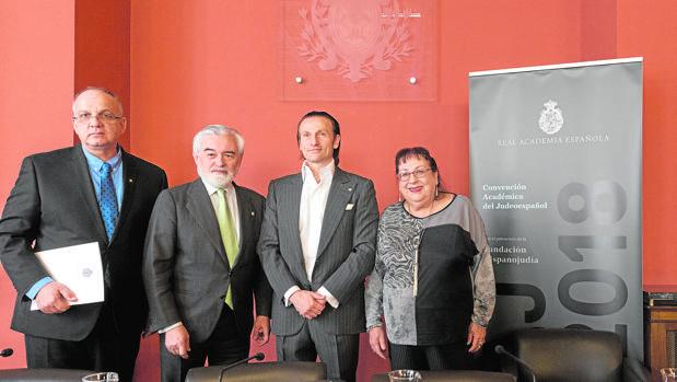 El acuerdo para la creación de la Academia del Judeoespañol se presentó en la sede de la RAE en Madrid