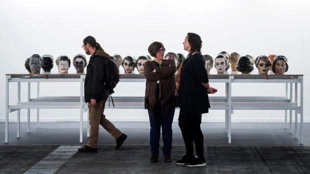 «Commedia 2018», escultura del artista Maen Florin