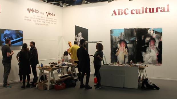 El estand de ABC Cultural en la ARCO 2018