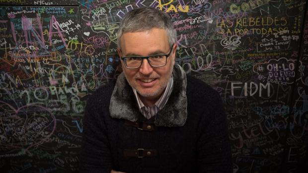 Antonio Fontana, fotografiado en Madrid poco antes de la entrevista