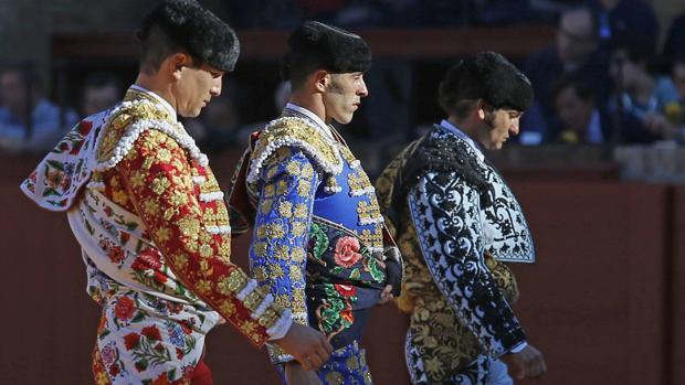 Manzanares, Talavante y Morante de la Puebla