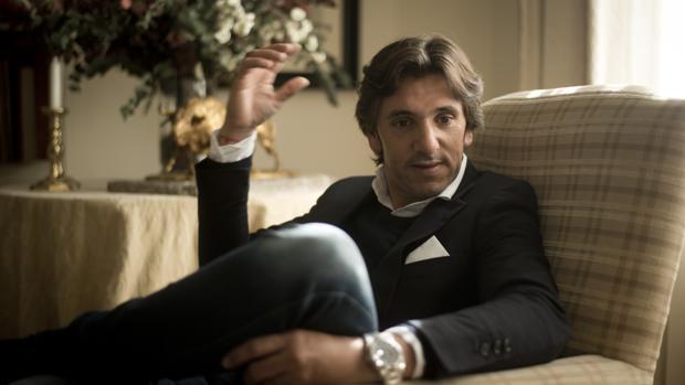 Diego Ventura, durante la entrevista